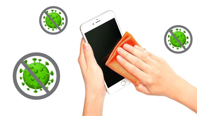 Kaip valyti ir dezinfekuoti telefona